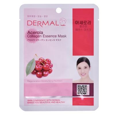 Korean Sheet Regeneration Mask DERMAL Collagen Essence Acerola 23g
