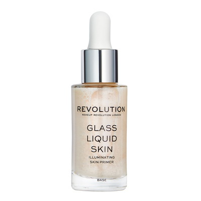 Gel prajmer za iluminaciju lica REVOLUTION MAKEUP Glass Liquid Skin 17ml