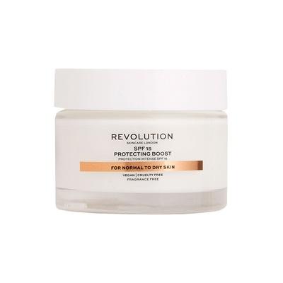 Dnevna krema SPF15 za normalnu i suvu kožu lica REVOLUTION SKINCARE Protecting Boost 50ml