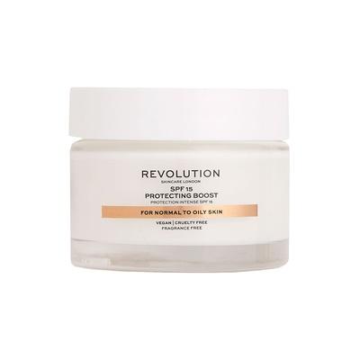 Dnevna krema SPF15 za normalnu i masnu kožu lica REVOLUTION SKINCARE Protecting Boost 50ml