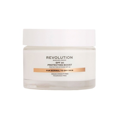 Moisture Cream for Normal to Dry Skin SPF30 REVOLUTION SKINCARE Protecting Boost 50ml