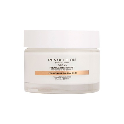 Moisture Cream for Normal to Oily Skin SPF30 REVOLUTION SKINCARE Protecting Boost 50ml