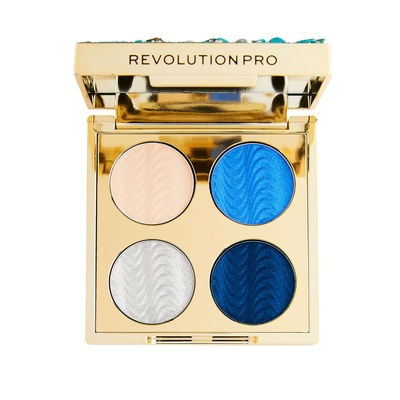 Mini paleta senki REVOLUTION PRO Ultimate Eye Look Ocean Treasure 3.2g