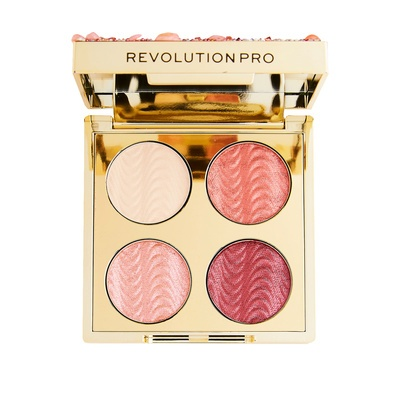 Mini paleta senki REVOLUTION PRO Ultimate Eye Look Quartz Crush 3.2g