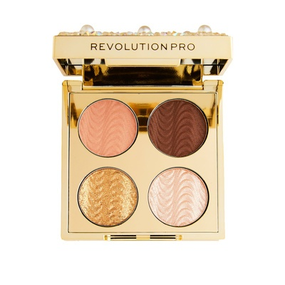 Eyeshadow Palette REVOLUTION PRO Ultimate Eye Look Diamonds and Pearls 3.2g