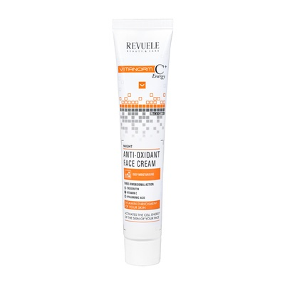 Noćna krema za lice sa vitaminom C REVUELE Vitanorm 50ml