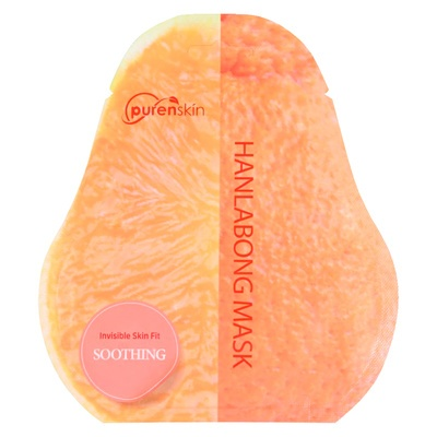 Korejska sheet maska za ujednačavanje tena PURENSKIN Invisible Skin Fit korejska mandarina 23g