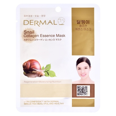 Korean Sheet Regeneration Mask DERMAL Collagen Essence Snail 23g