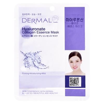 Korejska sheet maska za zatezanje i hidrataciju kože lica DERMAL Collagen Essence Hyaluronate 23g