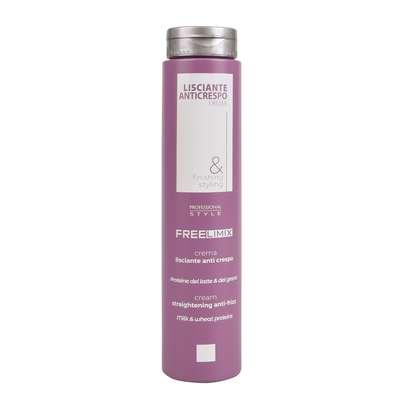 Straightening Cream FREELIMIX Anti Frizz 250ml