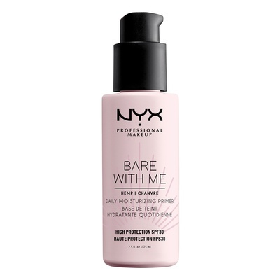 Moisturising Primer SPF30 NYX Professional Makeup Bare with Me BWMSPFH01 75ml