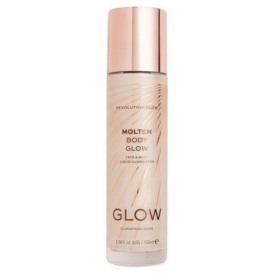 Tečni hajlajter za lice i telo REVOLUTION MAKEUP Molten Glow Gold 100ml