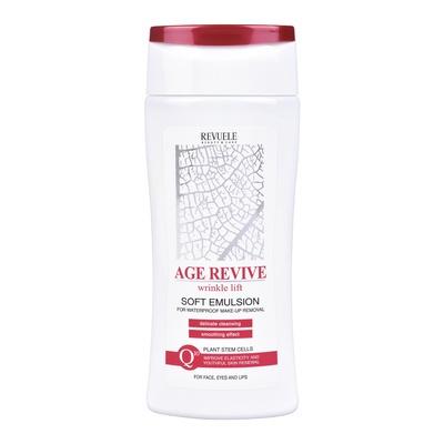 Mleko za uklanjanje vodootporne šminke REVUELE Age Revive 200ml
