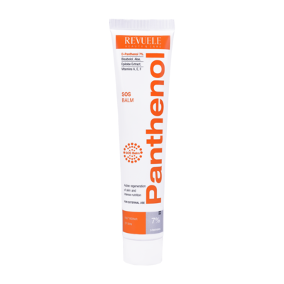 Balm For Solar and Thermal Burns REVUELE Panthenol 7% 75ml