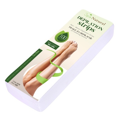 Depilation Strips SPA NATURAL White SN20 100pcs