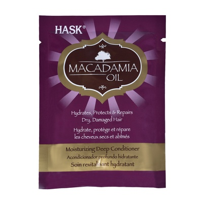 Moisturizing Deep Conditioner Sulfate Free HASK Macadamia Oil 50ml