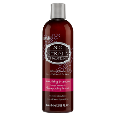 Smoothing Shampoo Sulfate Free HASK Keratin Protein 355ml