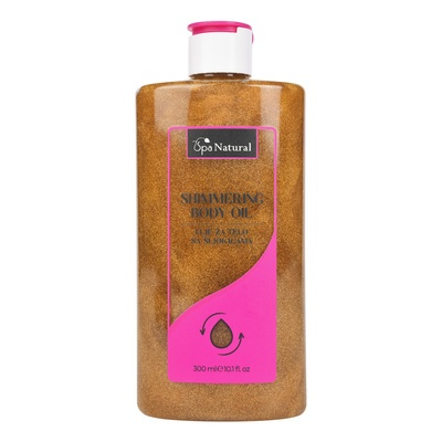 Shimmering Body Oil SPA NATURAL 300 ml