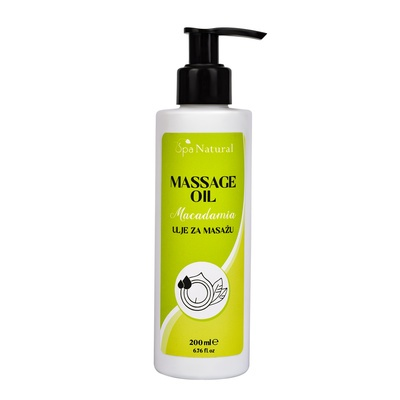 Massage Oil SPA NATURAL Macadamia 200ml