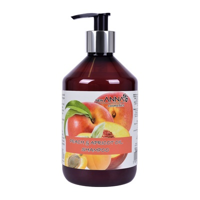 Šampon za suvu i farbanu kosu NEW ANNA Kajsija i breskva 500ml