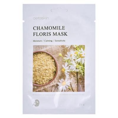 Korejska sheet maska za umirivanje kože Kamilica DETOSKIN Floris 25g