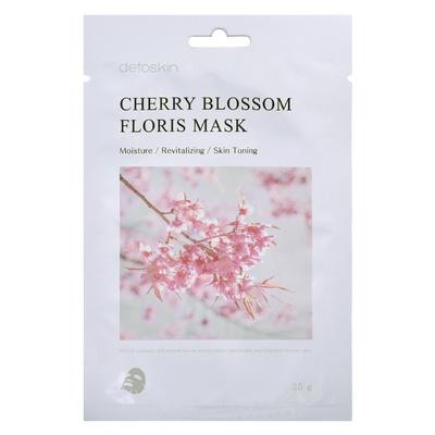 Korejska sheet maska za revitalizaciju kože Višnjin cvet DETOSKIN Floris 25g