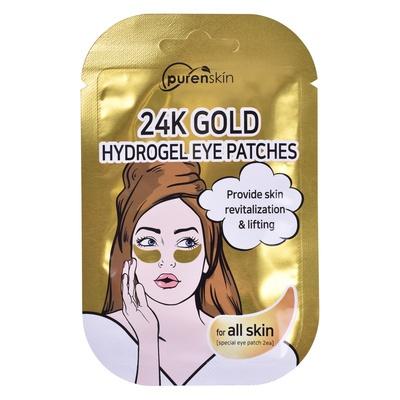 Korejski hidrogel jastučići za regiju ispod očiju PURENSKIN 24K Gold 2/1