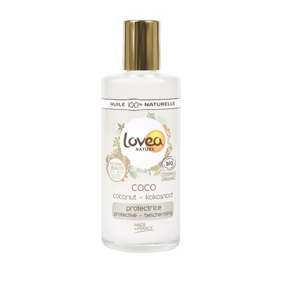 Face, Body and Hair Organic Coconut Oil LOVEA 100ml