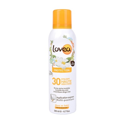 Waterproof Invisible Dry Mist SPF50 LOVEA 200ml