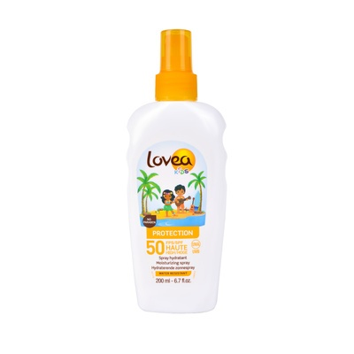 Waterproof Sun Care Spray for Children SPF50 LOVEA 200ml