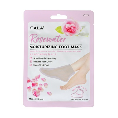 Korean Moisturizing Foot Mask CALA 67175 Rose 14g