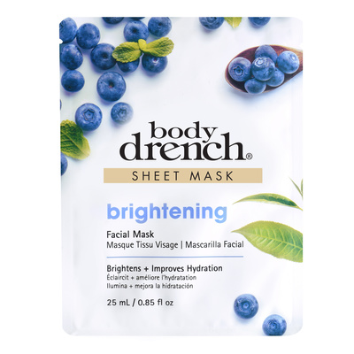 Sheet Facial Mask BODY DRENCH Brightening 25ml