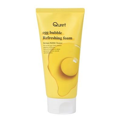 Refreshing Foam QURET Egg Bubble 170g