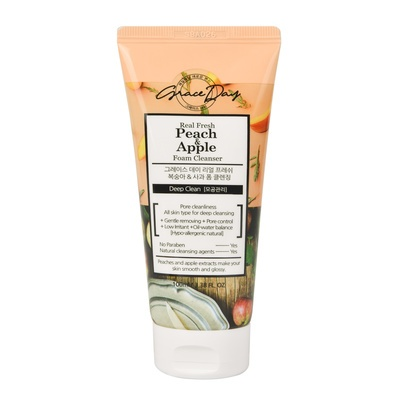 Foam for Deep Cleansing GRACE DAY Peach & Apple 100ml