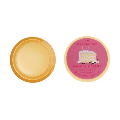 Lip Mask and Balm I HEART REVOLUTION Vanilla Cake 2.4g