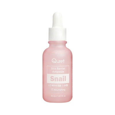 Nourishing Face Serum QURET Skin Barrier Snail 30ml