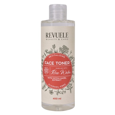 Revitalizing Face Toner REVUELE Witch Hazel and Rose Water 400ml