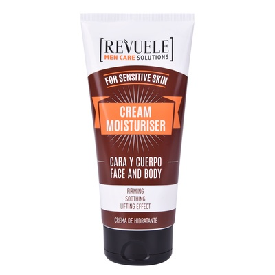 Hidratantna krema za osetljivu kožu lica i tela REVUELE Men Care Solutions 180ml