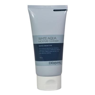 Pena za čišćenje i hidrataciju kože lica DERMAL White Aqua 150g