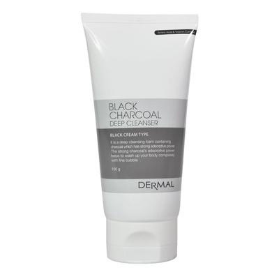 Pena za čišćenje lica i ukljanjanje viška sebuma DERMAL Aktivni ugalj 150g