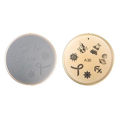 Šablon silikonski za Nail Art 30