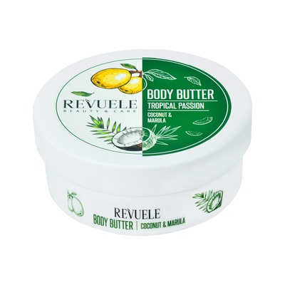 Body Butter REVUELE Tropical Passion Coconut & Marula 200ml