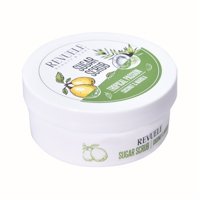 Sugar Scrub REVUELE Tropical Passion Coconut & Marula 200ml