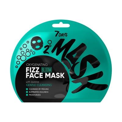 Sheet penušava maska za čišćenje lica 7DAYS Oxygenating Jasmin 25g