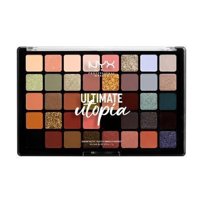 Paleta senki za oči NYX Professional Ultimate Utopia UUSP01W 40g