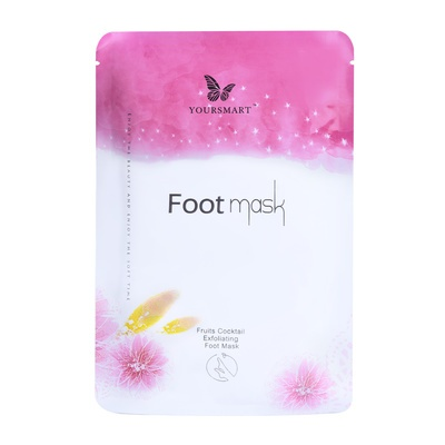 Foot Exfoliating Mask YOURSMART Fruits Cocktail 2pcs