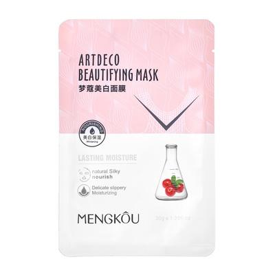 Kineska sheet maska za hidrataciju kože lica i ujednačavanje tena MENGKOU Brusnica 30g