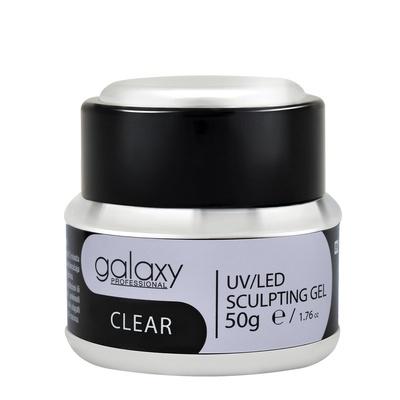 Sculpting Gel GALAXY LED/UV Clear 50g