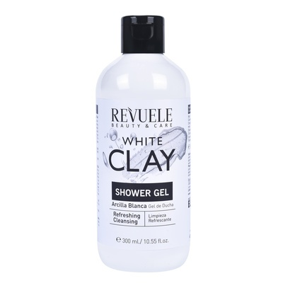 Shower Gel REVUELE White Clay 300ml