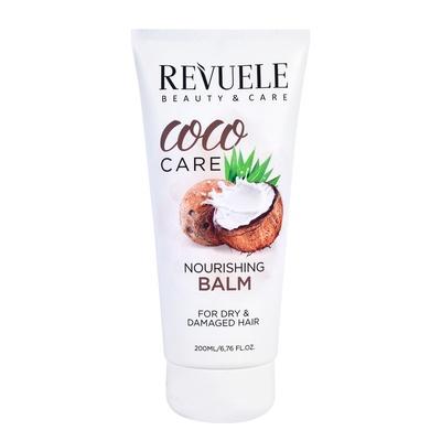 Hranljivi balzam za suvu i oštećenu kosu REVUELE Coco Care 200ml